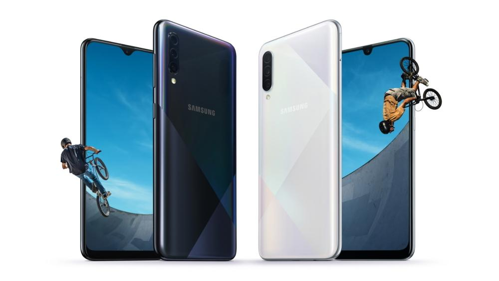 Samsung представил смартфоны Galaxy A30s и Galaxy A50s