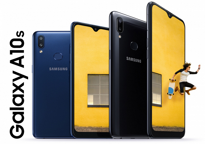 Samsung представила новый смартфон Samsung Galaxy A10s