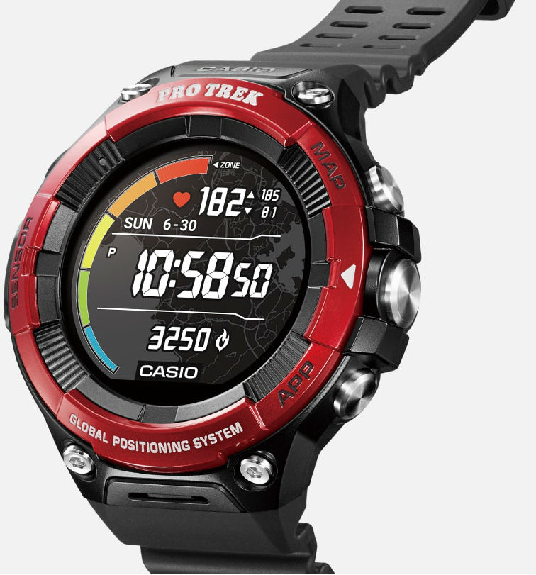 Casio представила новые «умные» часы с двойным экраном