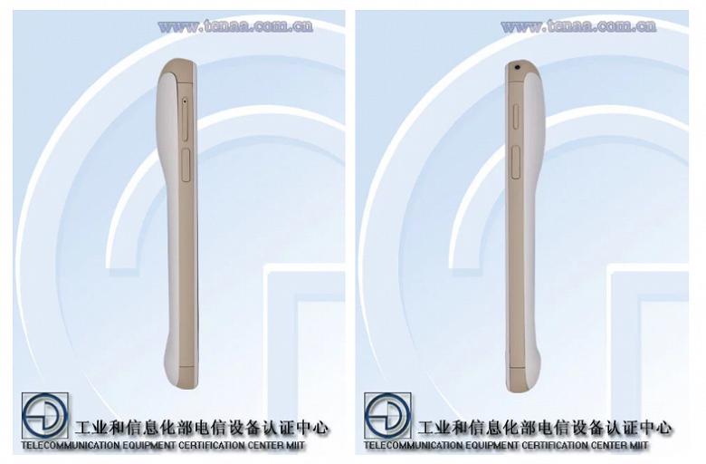 Необычный 260-граммовый смартфон Hisense NX появился в TENAA