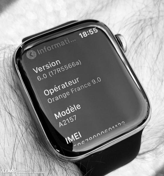 Slashleaks показал на фото новое поколение часов Apple Watch