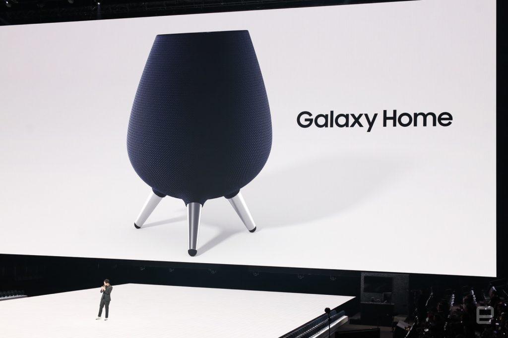 Samsung скоро выпустит «умную» колонку Galaxy Home с Bixby
