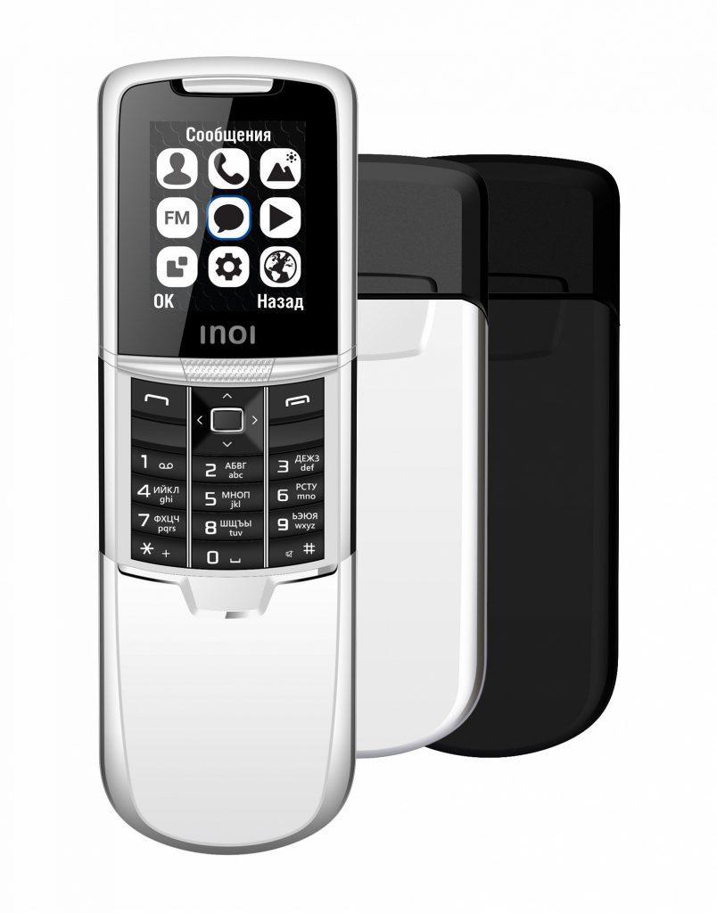 В России представлен бюджетный слайдер с дизайном легендарной Nokia 8800
