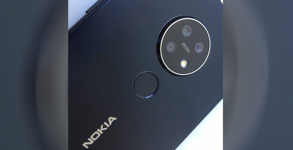 Появилась первая «живая» фотография смартфона Nokia 7.2