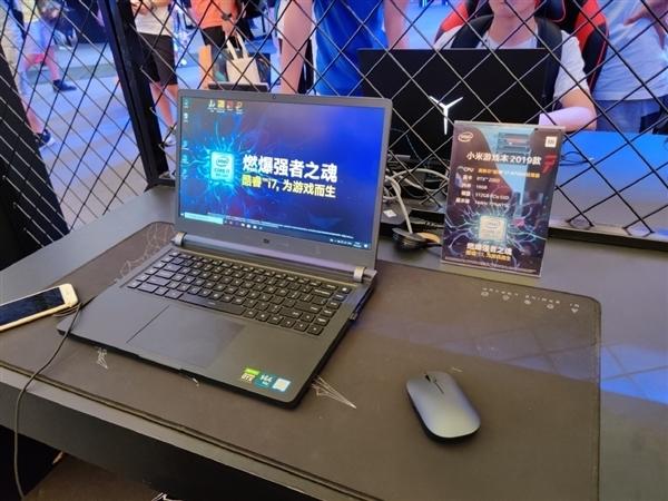 Xiaomi показала новый игровой ноутбук на выставке в Шанхае