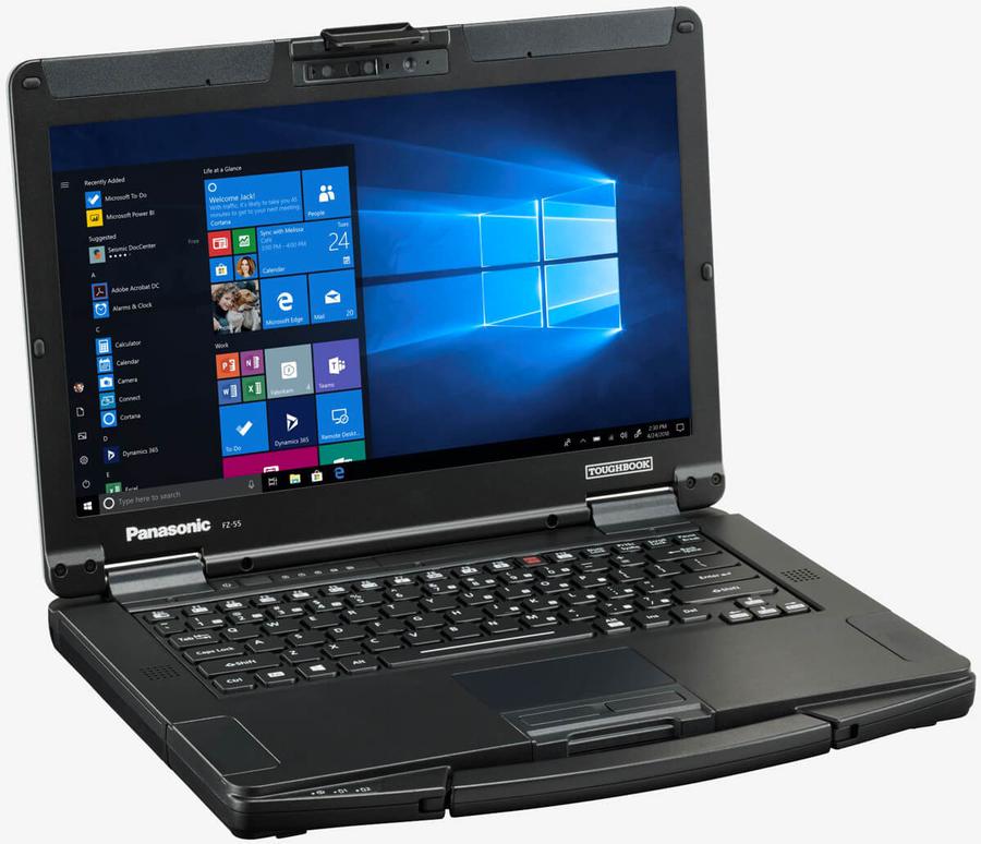 Представили защищенный ноутбук Panasonic Toughbook 55