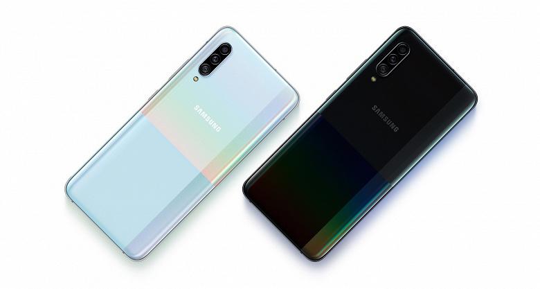 Представлен смартфон Samsung Galaxy A90 5G с тройной камерой