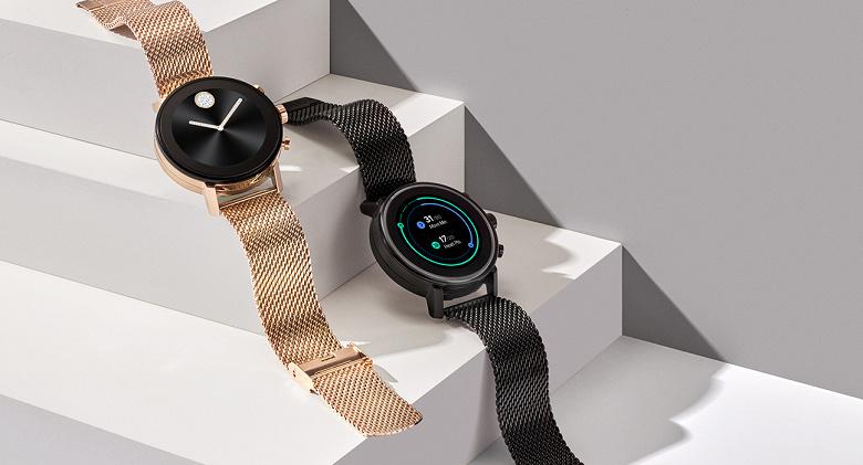 Компания Movado представила новые «умные» часы Connect 2.0