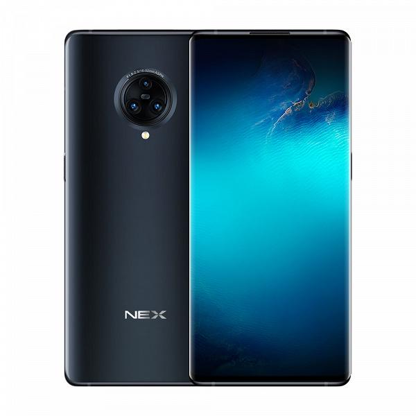 Vivo Nex 3 с «водопадным» экраном скоро представят в России