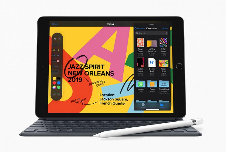 Apple презентовала новый iPad с Apple Pencil