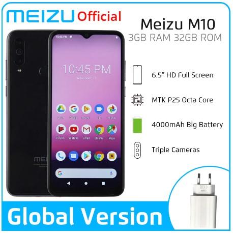 Внешность и характеристики бюджетного Meizu M10 раскрыли до анонса