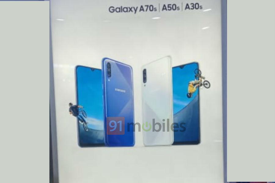 Samsung Galaxy A70s получит камеру 64-Мп камеру и АКБ на 5000 мАч