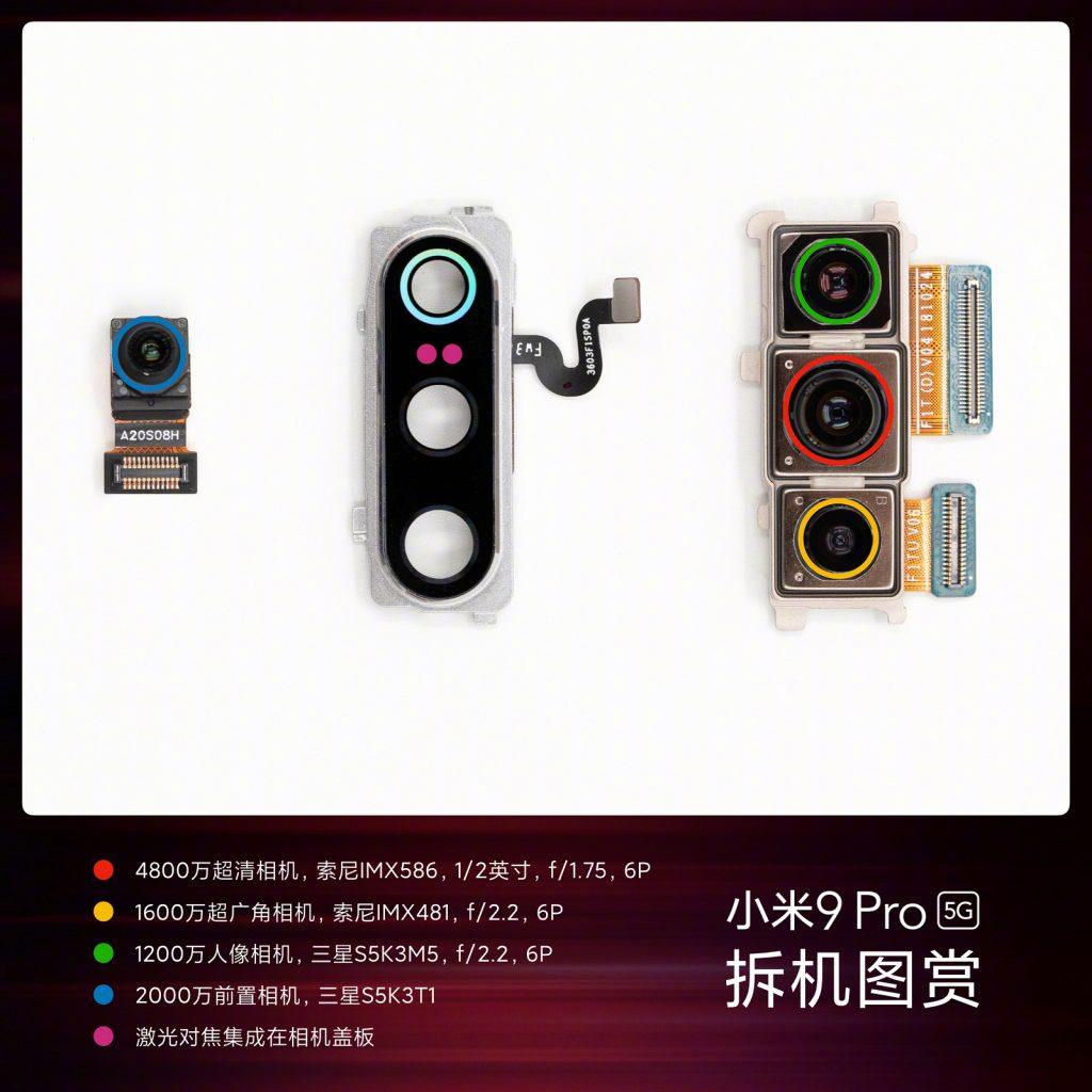 Xiaomi показала разобранный смартфон Mi 9 Pro 5G за $519