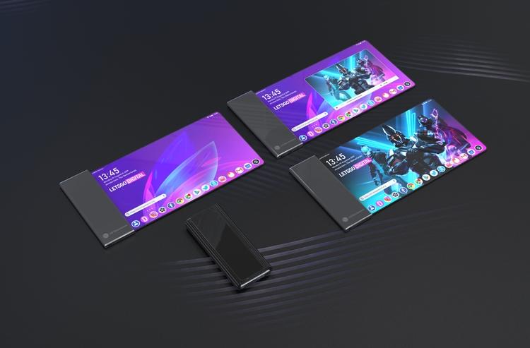 LG запатентовала смартфон с огромным гибким экраном