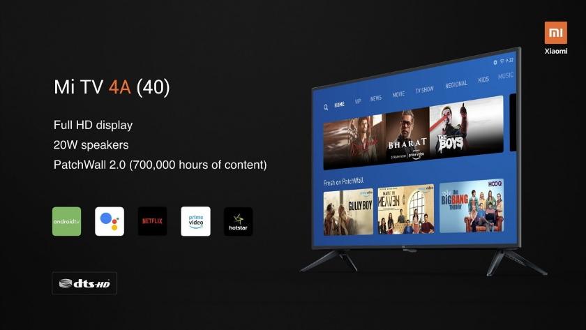 Xiaomi представила новые доступные телевизоры Mi TV 4A и Mi TV 4X