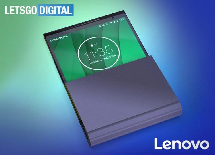 Lenovo запатентовала гибкий смартфон с двойным сочленением