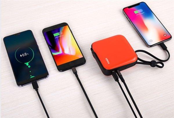 Xiaomi выпустила пауэрбанки на 10 000 мАч для iPhone и Android