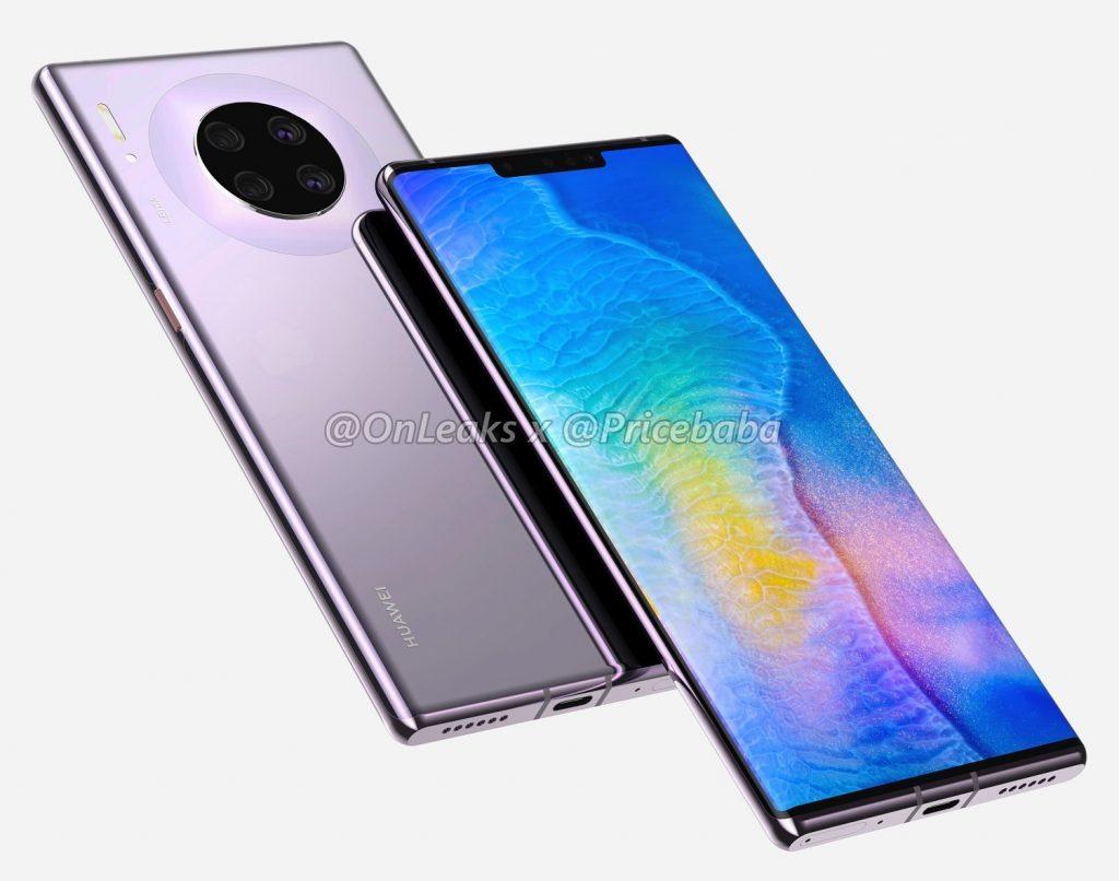 Характеристики флагмана Huawei Mate 30 Pro раскрыты до дебюта
