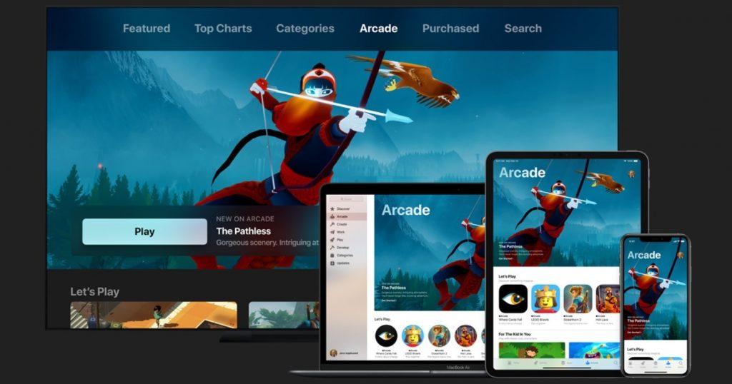 Для пользователей с iOS 13 заработал игровой сервис Apple Arcade