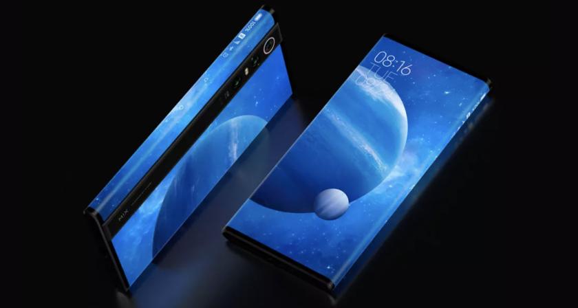 Xiaomi презентовала Mi Mix Alpha с экраном на весь смартфон