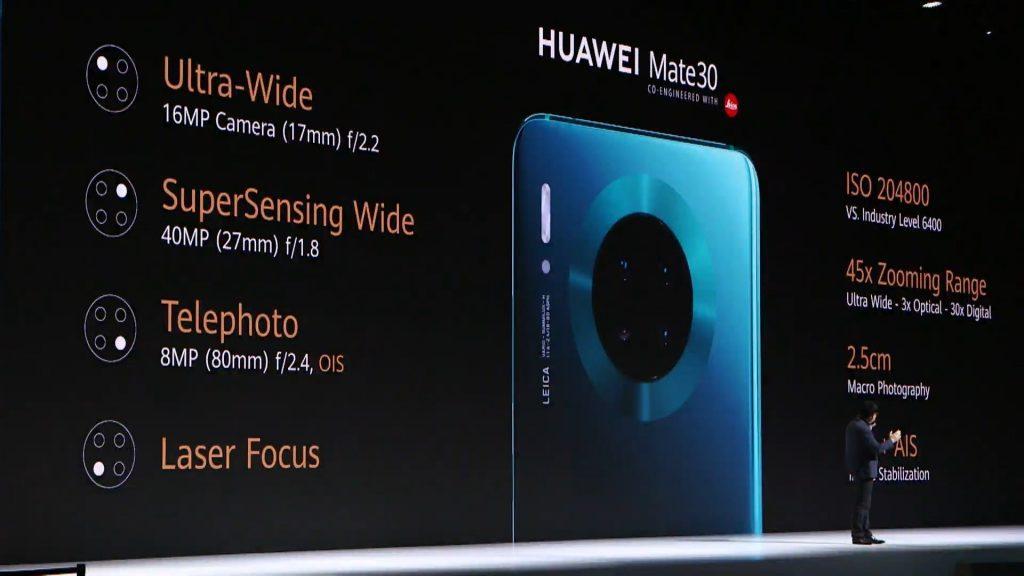 Huawei представил флагманский смартфон Huawei Mate 30
