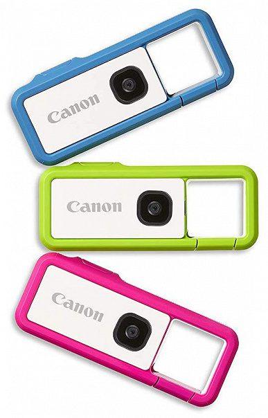 Компания Canon выпустила камеру-брелок IVY REC