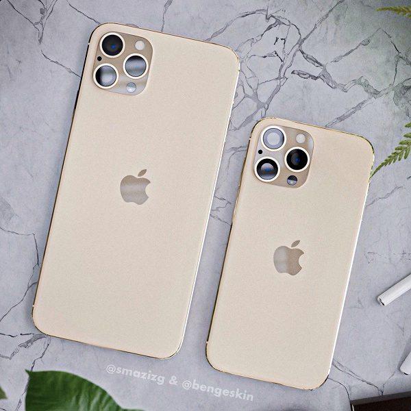 Появились новые рендерные изображения iPhone 2020