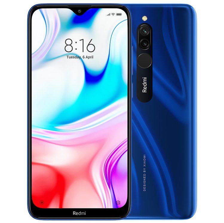 Смартфон Redmi 8 с АКБ на 5000 мАч представили официально