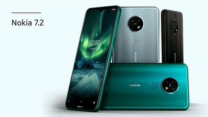 В России начались продажи новых смартфонов Nokia 7.2 и Nokia 6.2