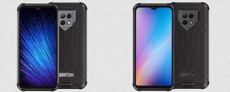 Blackview представила смартфон Blackview BV9800 Pro с тепловизором