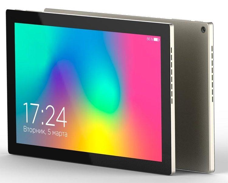 В России представлен облегченный планшет с процессором «Эльбрус»
