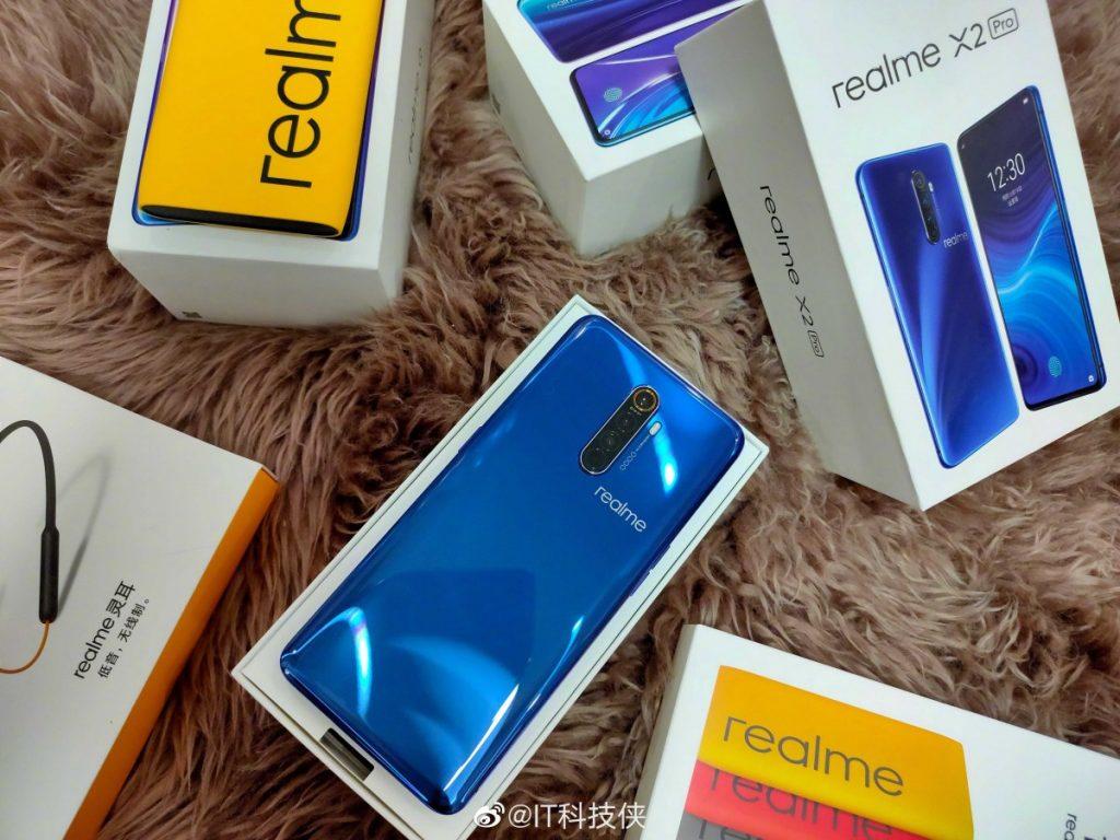 Новый Realme X2 Pro показали на партии живых фотографий