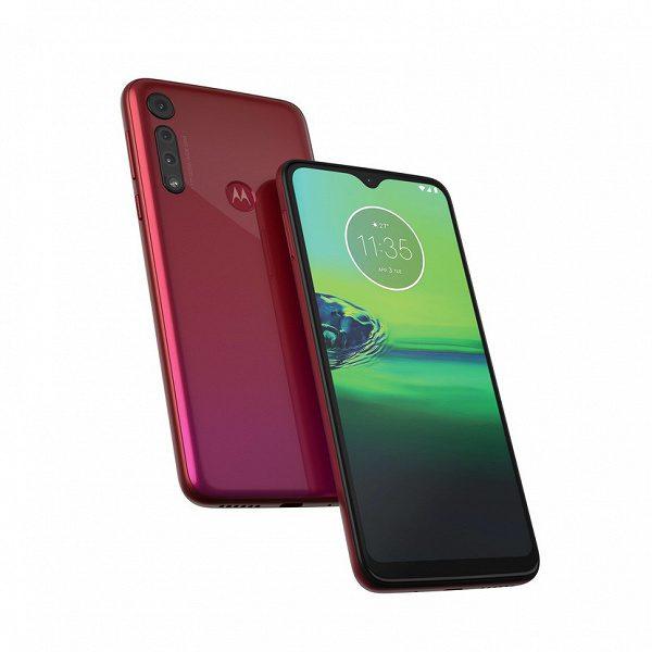 Представлен смартфон Moto G8 Play с тройной камерой и Helio P70