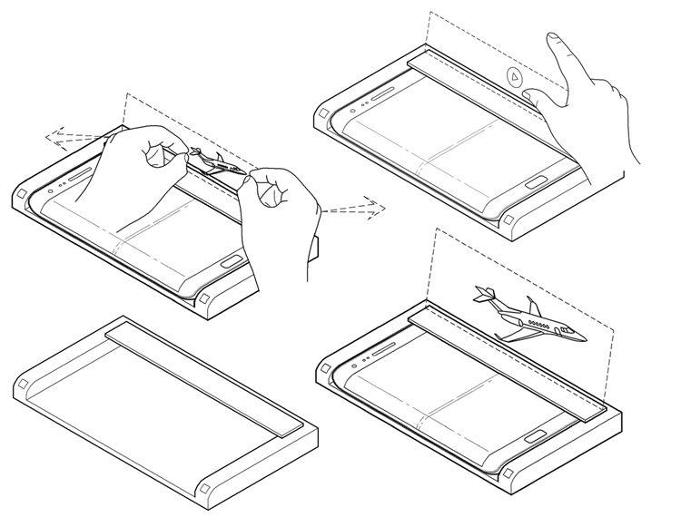 Samsung разработала голографическую док-станцию для смартфона
