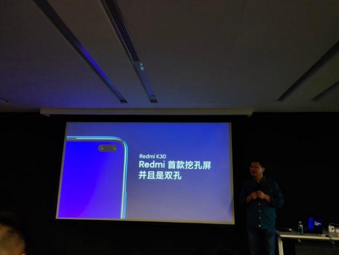 Анонсирован смартфон Xiaomi Redmi K30 с поддержкой 5G