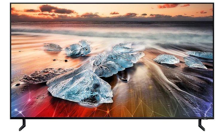 Samsung привезла в Россию флагманский телевизор Samsung Q900R 8K