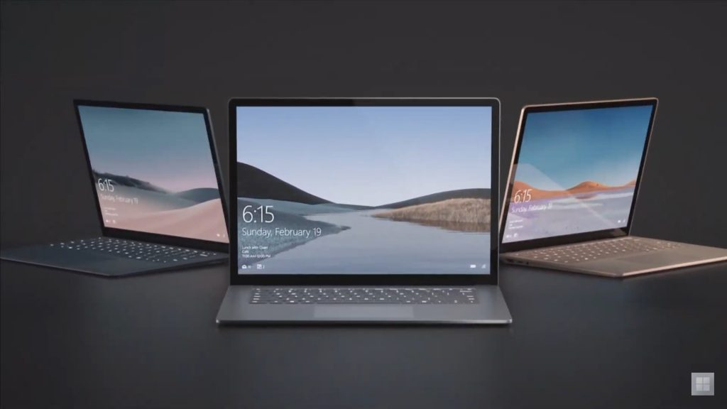 Microsoft представила два новых ноутбука Surface Laptop 3