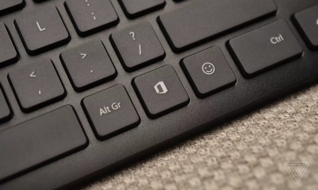 Microsoft добавила на клавиатуру две новые кнопки