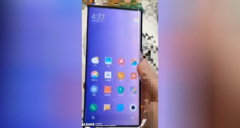 Опубликована первая фотография грядущего Xiaomi Mi Mix 4