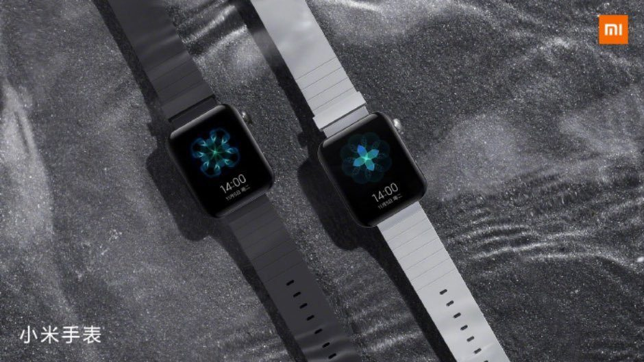 Xiaomi показала «умные» часы Mi Watch с дизайном Apple Watch