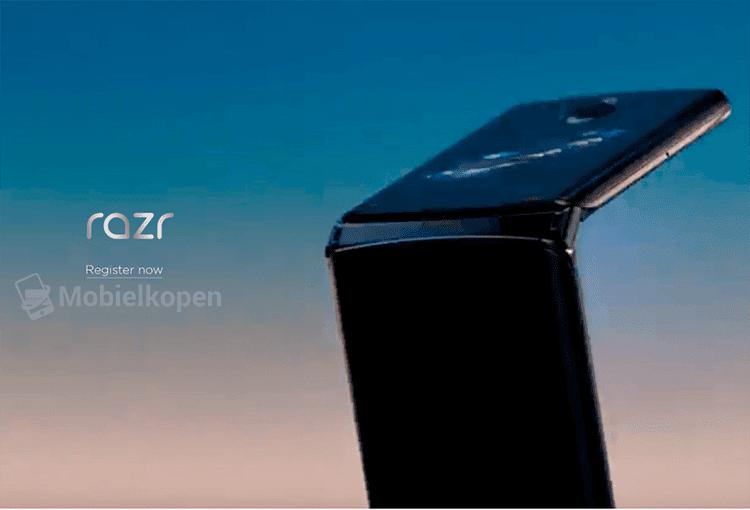 Опубликованы первые снимки новой «раскладушки» Motorola RAZR