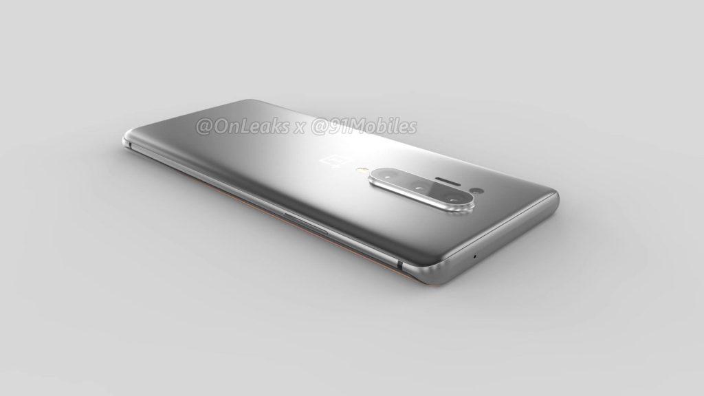 Смартфон OnePlus 8 Pro показали на рендерах задолго до анонса