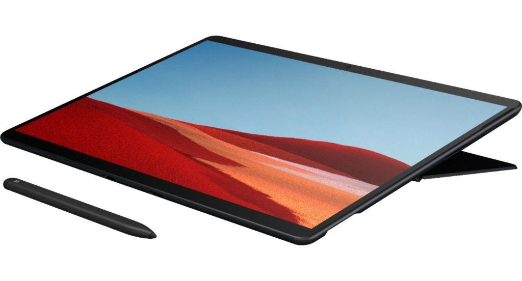 Microsoft представила новый планшет Surface Pro X с чипом Microsoft SQ1