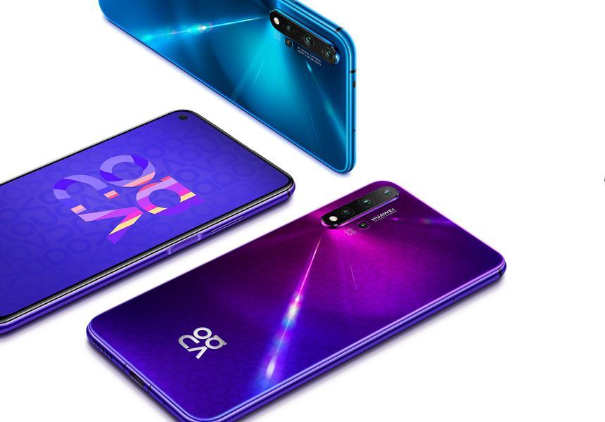 Huawei представил для России смартфон Huawei Nova 5T