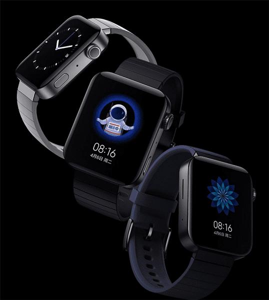 В продажу вышли умные часы Xiaomi Mi Watch
