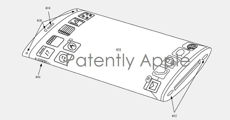 Apple разрабатывает смартфон с обернутым вокруг корпуса дисплеем