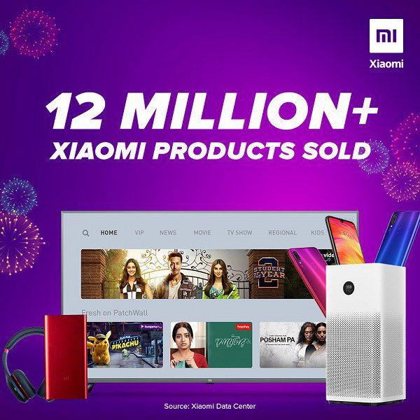 Xiaomi в Индии в октябре установила рекорд продаж