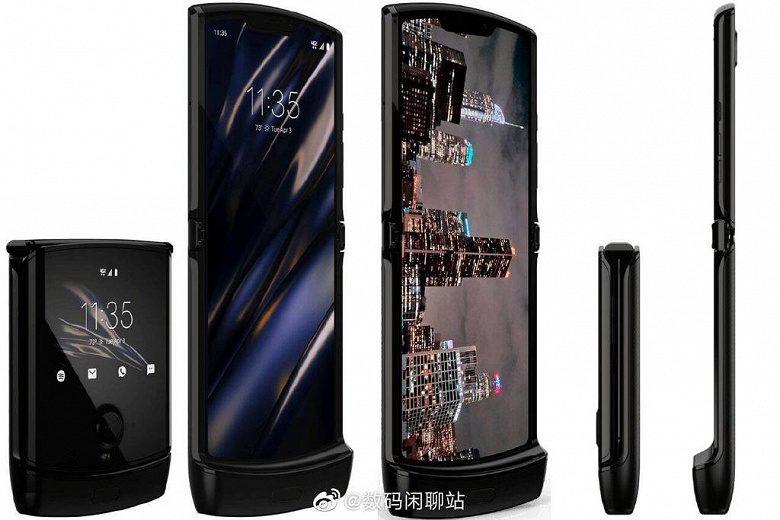 Складной смартфон Motorola Razr показали на новой фотографии