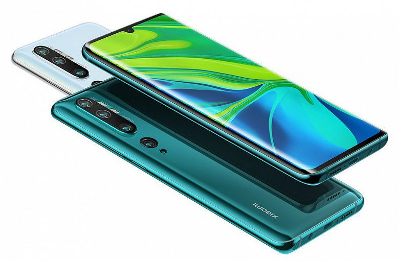 В Европе появился Xiaomi Mi Note 10 с камерой на 108 Мп