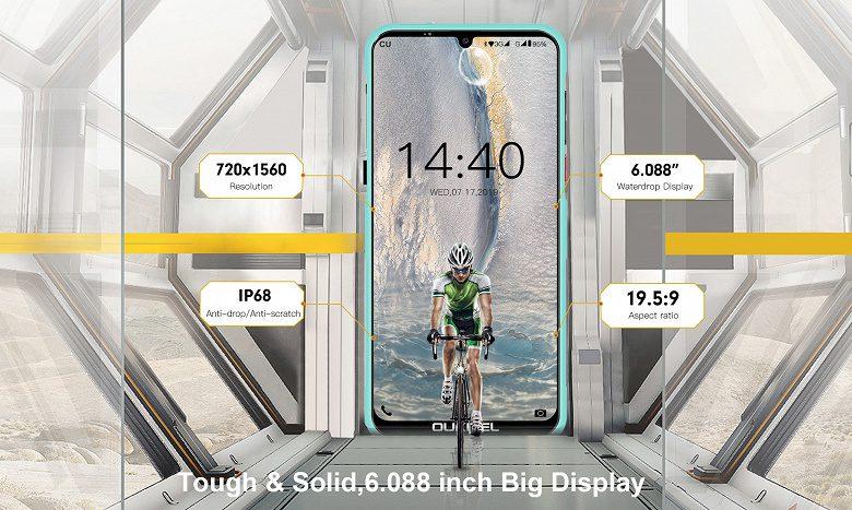 Презентован самый тонкий неубиваемый и недорогой смартфон Oukitel Y1000